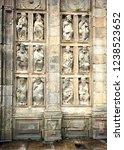 the gate of forgiveness  puerta ... | Shutterstock . vector #1238523652