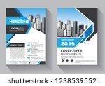business abstract vector... | Shutterstock .eps vector #1238539552