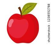school apple cartoon | Shutterstock .eps vector #1238552788