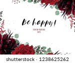 greeting  wedding invite  party ... | Shutterstock .eps vector #1238625262