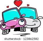 love cars | Shutterstock .eps vector #123862582