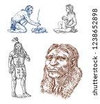 Primitive People. Prehistoric...