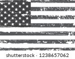 vector grunge american flag | Shutterstock .eps vector #1238657062