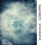 abstract storm clouds on a... | Shutterstock . vector #123865996