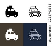 road trip icon set | Shutterstock .eps vector #1238743555