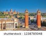 barcolona  spain  picturesque... | Shutterstock . vector #1238785048