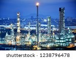 oil refineries and... | Shutterstock . vector #1238796478
