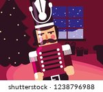 christmas nutcracker design | Shutterstock .eps vector #1238796988