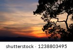 scenery view of sunset | Shutterstock . vector #1238803495