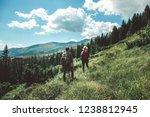 concept of breathtaking journey ...   Shutterstock . vector #1238812945