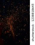 light from cutting steel    Shutterstock . vector #1238818645