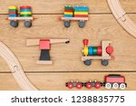Set Of Children Toys   Wooden...