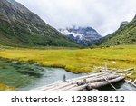 beautiful scene in the daocheng ... | Shutterstock . vector #1238838112