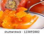 persimmon | Shutterstock . vector #123892882