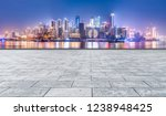 road ground and urban skyline... | Shutterstock . vector #1238948425