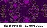 abstract vector background dot... | Shutterstock .eps vector #1238950222