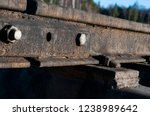 railway passing through the...   Shutterstock . vector #1238989642