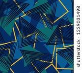 geometric pattern able for... | Shutterstock .eps vector #1239031498