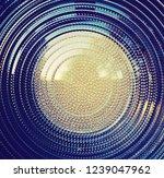 fresnel lens. spotlight with...   Shutterstock . vector #1239047962