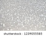 silver giltter abstract... | Shutterstock . vector #1239055585