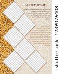 flyer design. business brochure ... | Shutterstock .eps vector #1239076408