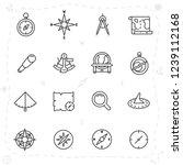 vintage navigation and... | Shutterstock .eps vector #1239112168