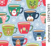 Seamless Pattern For Christmas...