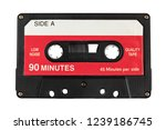 Audio Cassette Tape Isolated ...