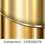 gold metallic background ... | Shutterstock .eps vector #1239206278
