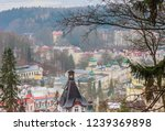 view of  marianske lazne spa ... | Shutterstock . vector #1239369898