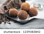 Rum Chocolate Balls With Cocoa...