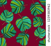 creative seamless pattern with... | Shutterstock . vector #1239383962