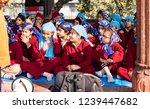 new dehli  india   february 19  ... | Shutterstock . vector #1239447682