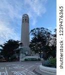 coit tower in san francisco | Shutterstock . vector #1239476365
