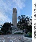 coit tower in san francisco | Shutterstock . vector #1239476368