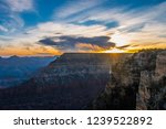 sunset at grand canyon | Shutterstock . vector #1239522892