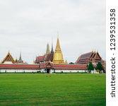 wat phra keaw in thailand | Shutterstock . vector #1239531358