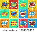 12 special offer speech bubbles ...   Shutterstock .eps vector #1239533452