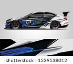 sport car racing wrap design.... | Shutterstock .eps vector #1239538012
