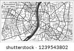 ahmedabad india city map in... | Shutterstock . vector #1239543802