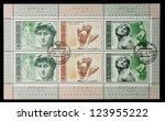 ussr   circa 1975  a stamp... | Shutterstock . vector #123955222