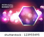 abstract business background  ... | Shutterstock .eps vector #123955495