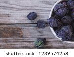 purple brussels sprouts | Shutterstock . vector #1239574258