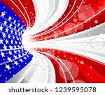 american flag concept | Shutterstock . vector #1239595078