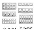 blister 3d packs white... | Shutterstock . vector #1239648085