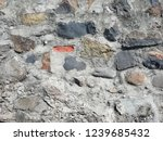 natural wall with big and small ... | Shutterstock . vector #1239685432