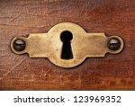 Vintage Copper Keyhole...