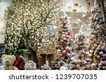 big and beautiful decorated... | Shutterstock . vector #1239707035