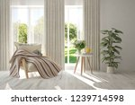 idea of white room with... | Shutterstock . vector #1239714598