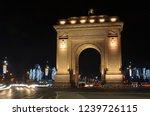 bucharest  romania   january 5  ...   Shutterstock . vector #1239726115